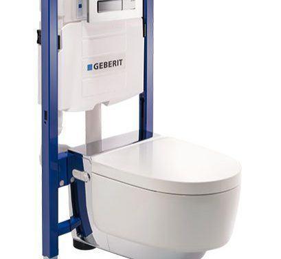 Installasjon av vegghengt toalett